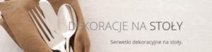 serwetki z logo