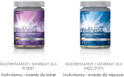 wellness multiwitaminy oriflame online