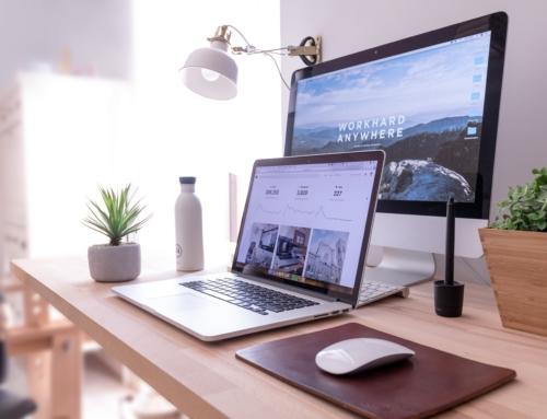 Biuro domowe: wnętrza, wystrój i układ
